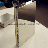 Paneles de panal de acero inoxidable con superficie cepillada de 25 mm