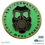 Emblema de pin impresso de bronze personalizado com embreagem de borboleta (CS-98)