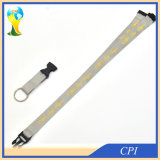 Factory Price Polyester Detachable Neck Lanyard for Keys