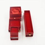 Recht überzogenes Papier-Kunstdruckpapier-herausziehbarer Fach-Kasten (J64-E1)