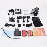 A câmera Eken H8PRO Ambarella A12 4k 30fps/1080P 120fps WiFi da ação com a tela dupla remota vai a came H8 do esporte PRO