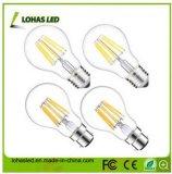 Lampadina fredda di bianco LED di A60 2W-8W per risparmio di energia