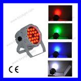 屋外LED Parcan 18PCS*12W RGBWライト