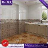 Baldosa cerámica de calidad superior elegante en azulejos del dormitorio en la pared del dormitorio