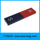 Magnete rosso/verde del AlNiCo della barra di S N per insegnare