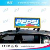 Pantalla de alto brillo a todo color 3G / / WiFi LED superior del taxi 4G para la visualización de publicidad