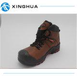 Zapatos de trabajo de cuero de alta calidad de la seguridad
