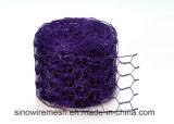 Coniglio galvanizzato tuffato caldo che cattura con la rete la rete metallica esagonale