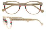 Geen Glazen Optische Eyewear van het Oogglas van de Acetaat van de Manier MOQ