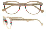 MOQ 형식 아세테이트 안경알 유리 없음 광학적인 Eyewear