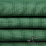 Agua y abajo tela de nylon tejida chaqueta Viento-Resistente del telar jacquar el 100% Taslan de la tela cruzada de la sombra (N011)