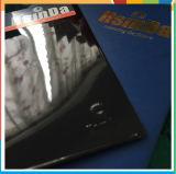 Alta capa del polvo del efecto del cromo del espejo del negro del lustre de Hsinda