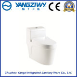 Toilette monopièce de gicleur de Siphonic de salle de bains