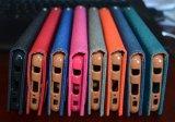 Чернь PU картины OEM красивейшие кожаный/iPhone аргументы за крышки телефона печати Filp бумажника клетки 6 7