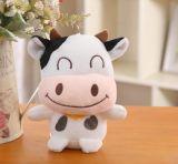 Mini weiches Tierplüsch-Kuh-Spielzeug