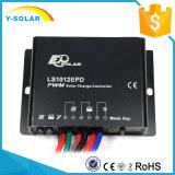Charge de picovolte de cellules de panneau solaire d'Epever 10A 12V/contrôleur Ls1012EPD de débit