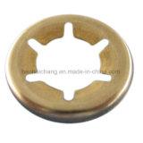 Kundenspezifische lochende Metallelektrische Edelstahl-Unterlegscheibe für Autoteile