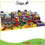Cour de jeu molle enfants d'intérieur commerciaux de cour de jeu de thème de l'espace de grands