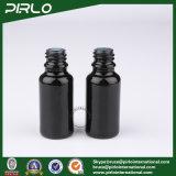 [15مل] أسود [ليغتبرووف] زجاجيّة رذاذ زجاجات مع أسود ألومنيوم مضخة مرشّ