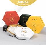 Rectángulo teñido conveniente simple del producto alimenticio del cuidado médico del hexágono de la cartulina