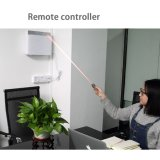 Установленный стеной очиститель воздуха с 2 вентиляторами и UV светильником