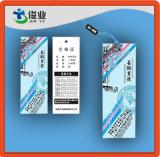 中国の有名な余暇の衣服のための高品質のこつの札