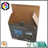 Коробка коробки штейнового цвета черноты слоения Corrugated