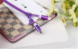 Дешевое цена Shenzhen поливая из шланга специальный кабель данным по USB застежки -молнии 40cm с быстрой поручая скоростью для iPhone/Samsung/Huawei