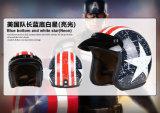 Шлемы стороны типа Amercia сбор винограда открытые для мотоцикла с МНОГОТОЧИЕМ одобрили