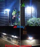 Dispositif élégant solaire blanc 2W de lampe de mur d'hôtel de détecteur de DEL PIR