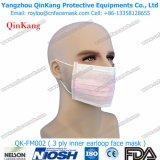 Maschera di protezione non tessuta a gettare della mascherina di polvere con il Orecchio-Ciclo/legame