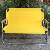 금속 옥외 폴딩 두 배 의자
