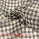 tela de teñido del cedazo de la tela del hilado de la tela 100%Polyester para la ropa de la ropa de la bufanda de la alineada de la falda