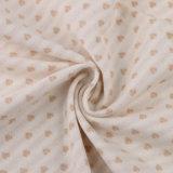 100%のOekoの証明の有機性綿織物の有機性綿