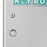Der 120 Schlüssel-Kasten-Schrank befestigen Wand-Montierungs-Kombinations-Aluminium