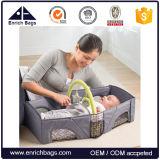最新のデザイン赤ん坊旅行袋の携帯用赤ん坊旅行ベッド