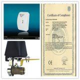 Rivelatore di gas allarme senza fili / gas con valvola SFL-817 per uso domestico