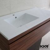 Bacino di basamento di superficie solido di Corian della mobilia della stanza da bagno