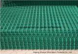 PVC покрыл гальванизированную сваренную ячеистую сеть для ограждать сада