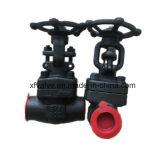 Válvula de porta forjada API602 da linha do aço de carbono A105
