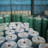 Tela não tecida descartável dos PP Spunbond da alta qualidade para as tampas da planta