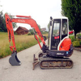 Trilha de borracha 350*54.5*84 da mini máquina escavadora para caber Kubota Kx121.3