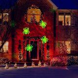 Nuevo diseño de exterior / decoración de jardín 2 en 1 luz de proyección de caleidoscopio