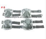 2017 almofadas táticas de Knee&Elbow do escudo da borracha ou do côordenador