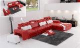 Home Furniture Ensemble de canapé en cuir de salon de nouvelle conception (HC1011)