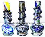 """10 """" tubos de agua del vidrio suave/tubos de tabaco que fuman originales con la variedad de colores disponibles"""