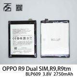 Oppo R9 SIM R9 R9TM Blp609를 위한 본래 이동 전화 건전지는 이중으로 한다