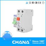 Elektronische 1p+N 40A RCBO RCCB met de Bescherming van de Te sterke intensiteit