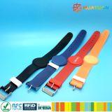 Lasergravur Druck Flexible Kunststoff RFID Wristband für Fitness Center
