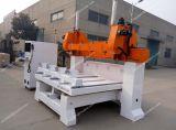La statua di legno scolpisce il router di CNC dell'incisione per industria artigianale 3D